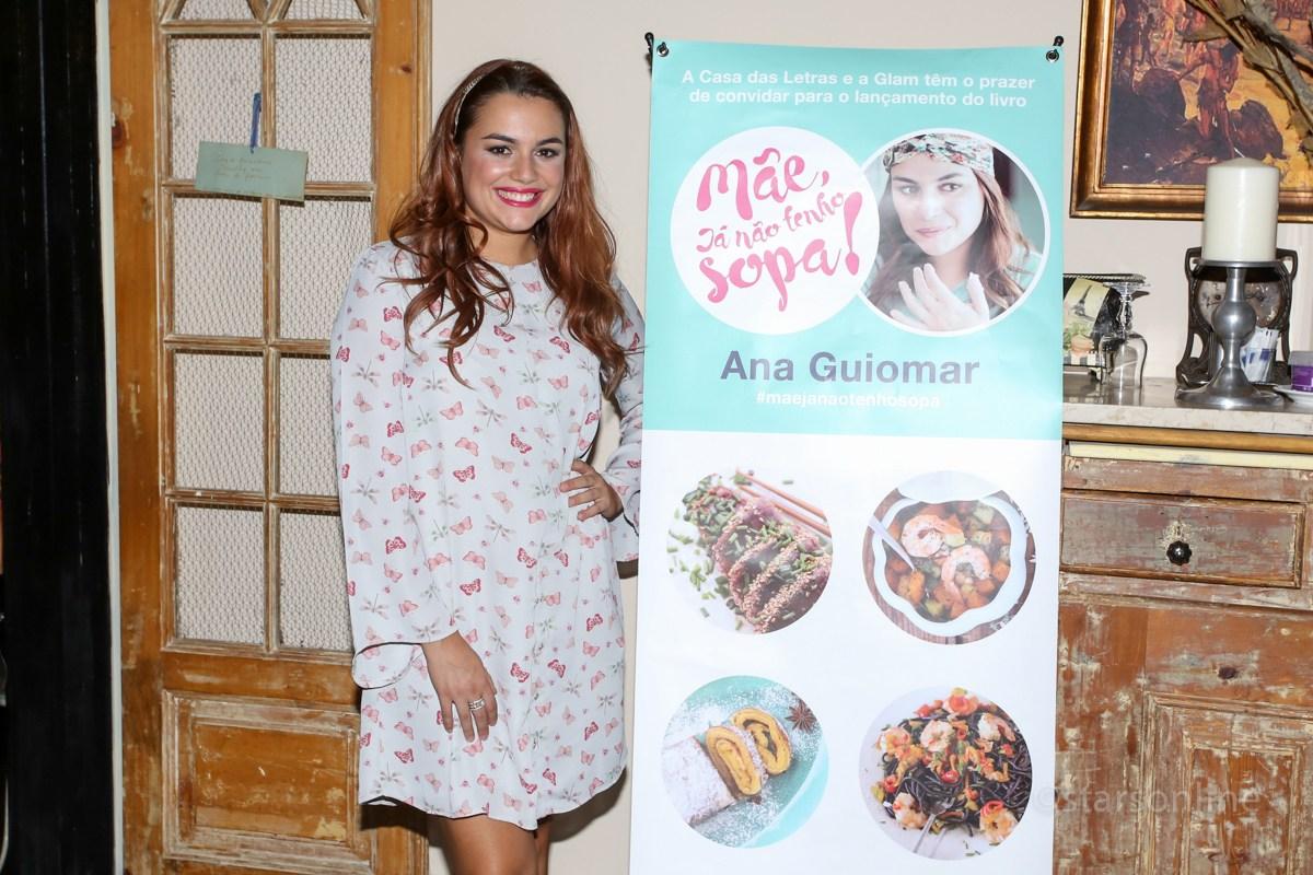 """Ana Guiomar. Evento: Lançamento do livro de Ana Guiomar, """"Mãe Já Não Tenho Sopa"""", Restaurante À Parte, Lisboa, 15.09.2016"""