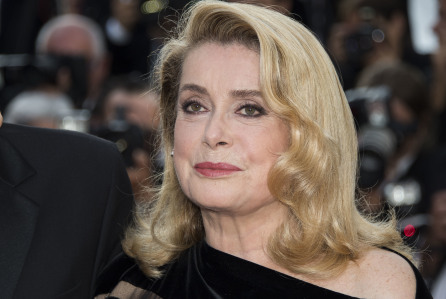 Mandatory Credit: Photo by Invision/AP/REX/Shutterstock (9241498f) Catherine Deneuve poses for photographers upon arrival at the screening of the film The Killing Of A Sacred Deer at the 70th international film festival, Cannes, southern France 2017 The Killing Of A Sacred Deer Red Carpet, Cannes, France - 22 May 2017