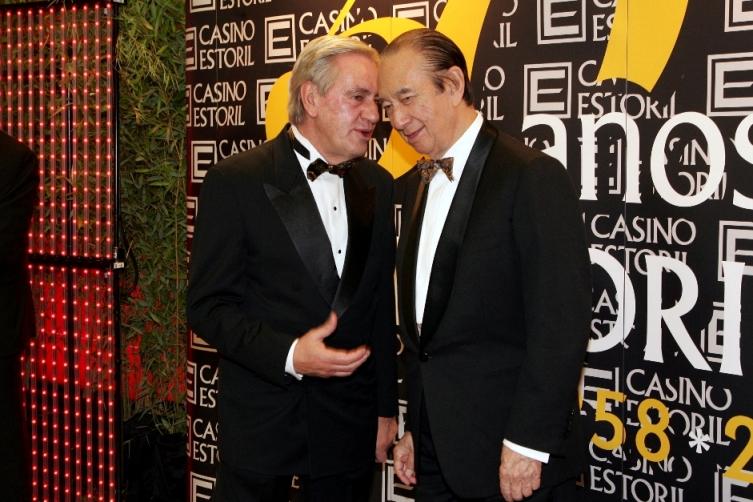Stanley Ho com Mário Assis Ferreira